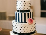 40 Wedding Polka Dot Cakes24