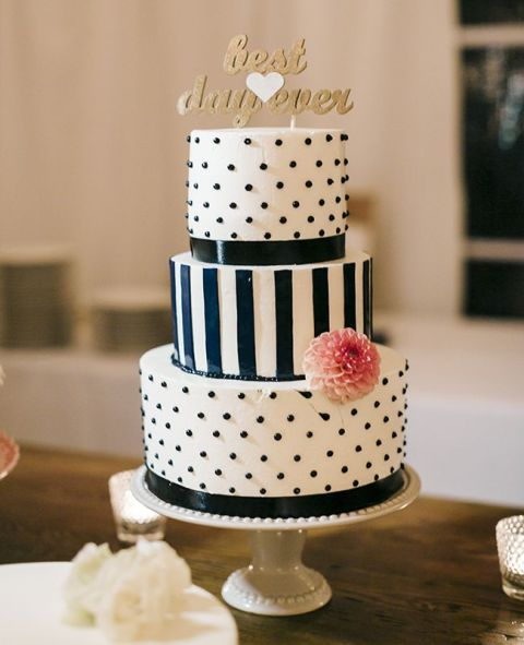Picture Of Wedding Polka Dot Cakes 24