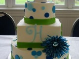 40 Wedding Polka Dot Cakes25