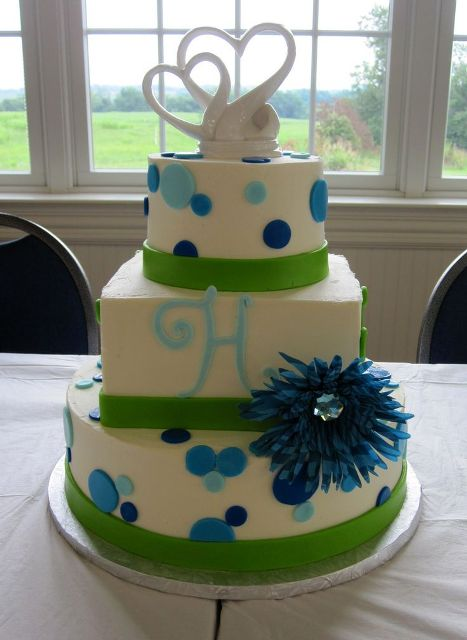 Picture Of Wedding Polka Dot Cakes 25