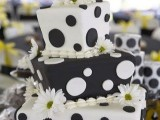 40 Wedding Polka Dot Cakes27