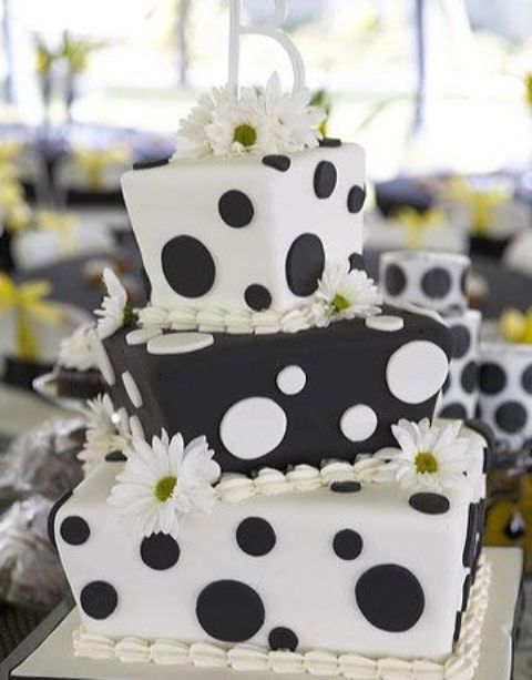Picture Of Wedding Polka Dot Cakes 27