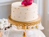 40 Wedding Polka Dot Cakes29