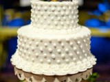 40 Wedding Polka Dot Cakes3