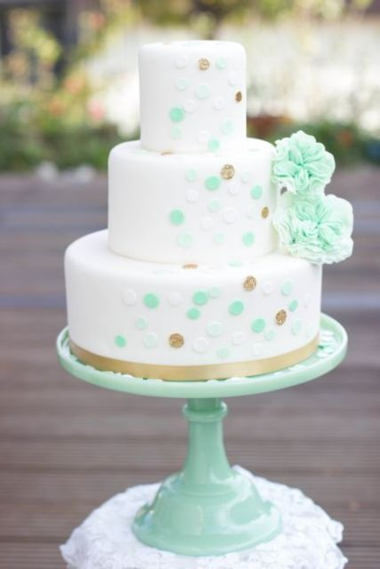 Picture Of Wedding Polka Dot Cakes 30