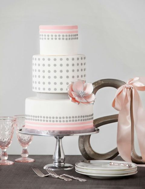 Picture Of Wedding Polka Dot Cakes 31