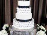 40 Wedding Polka Dot Cakes34