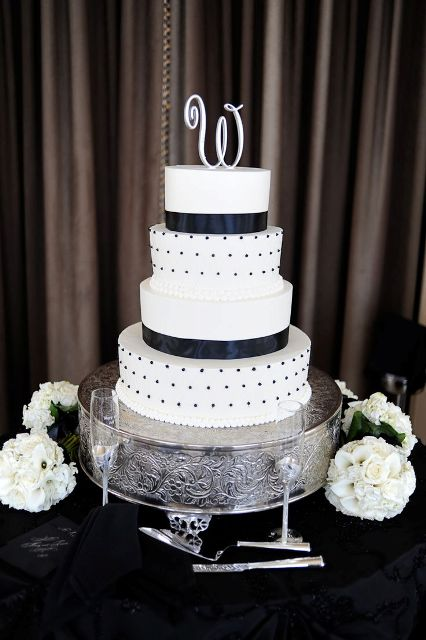 Picture Of Wedding Polka Dot Cakes 34
