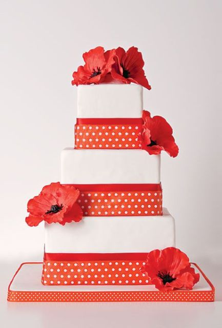 Picture Of Wedding Polka Dot Cakes 36