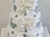 40 Wedding Polka Dot Cakes37