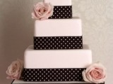 40 Wedding Polka Dot Cakes40