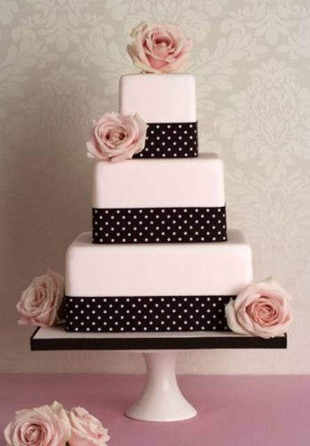 Picture Of Wedding Polka Dot Cakes 40