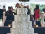 40 Wedding Polka Dot Cakes5