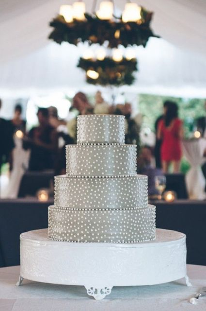 Picture Of Wedding Polka Dot Cakes 5