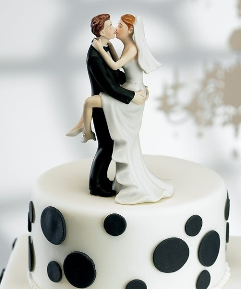 Picture Of Wedding Polka Dot Cakes 6