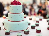 40 Wedding Polka Dot Cakes7