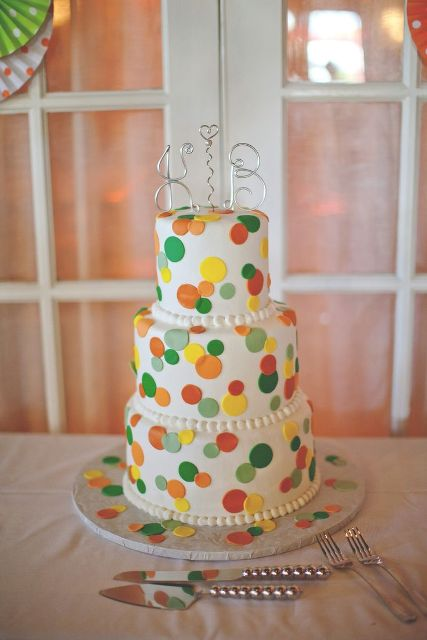 Picture Of Wedding Polka Dot Cakes 9