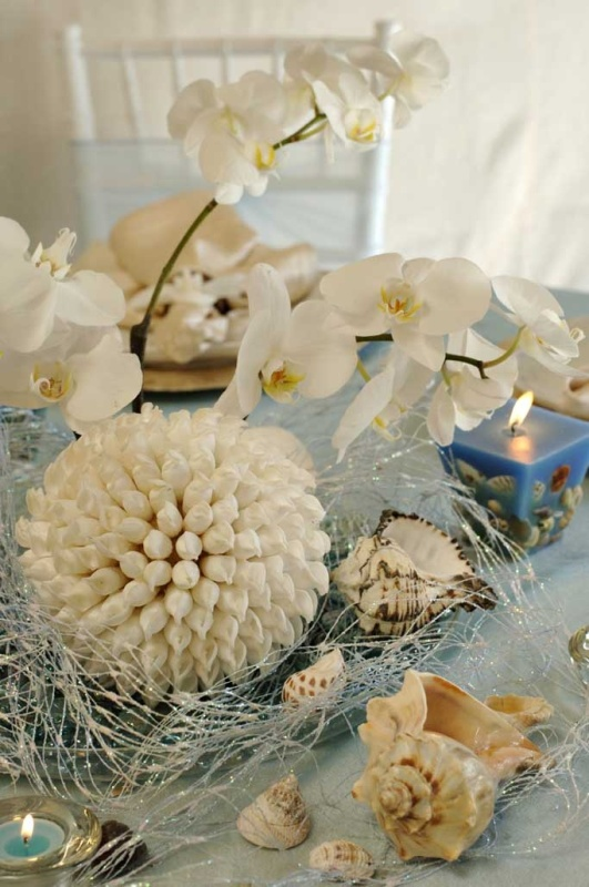 40 Amazing Beach Wedding Centerpieces - Weddingomania