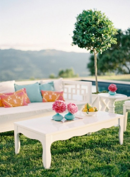 Amazing Outdoor Wedding Lounge Ideas