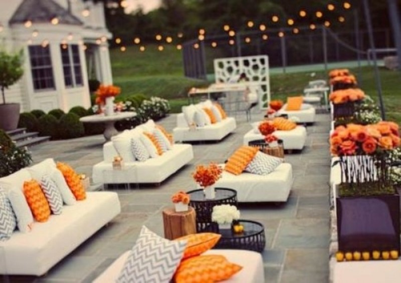Picture Of Amazing Outdoor Wedding Lounge Ideas