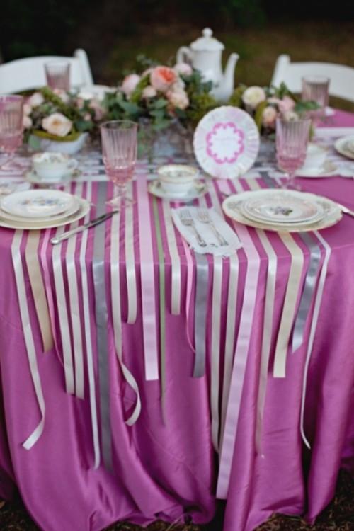 Ленты для декора на свадьбу