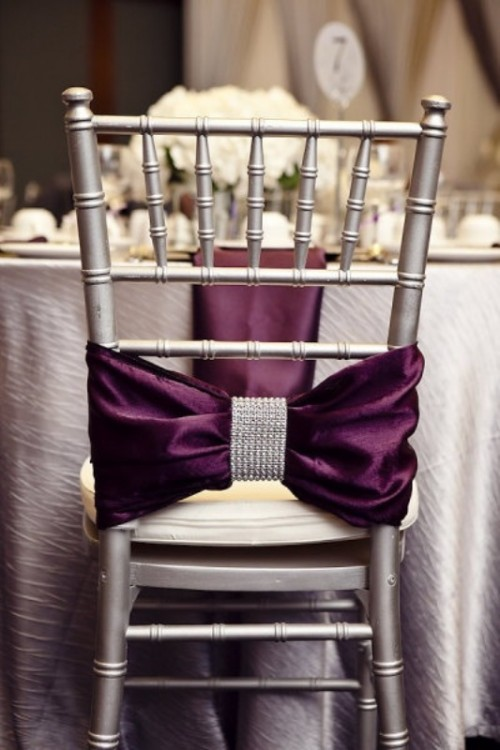 Glamorous Dark Purple Wedding Inspirational Ideas