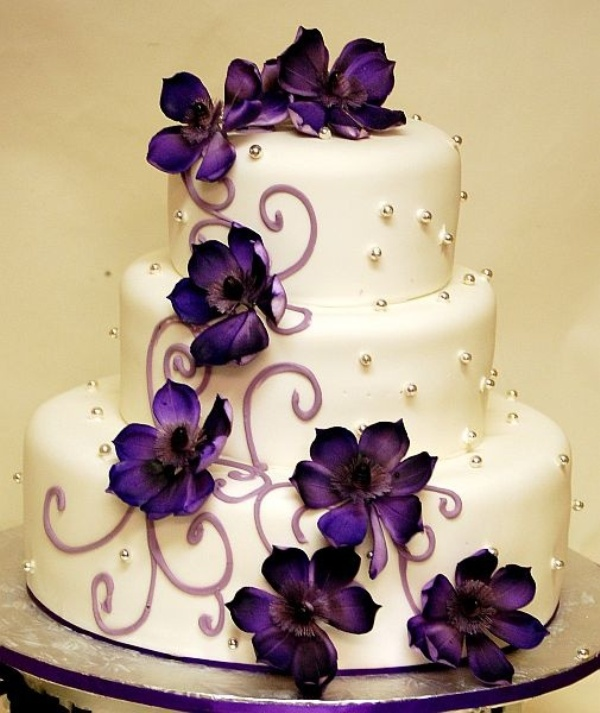 High Quality Glamorous Dark Purple Wedding Inspirational Ideas