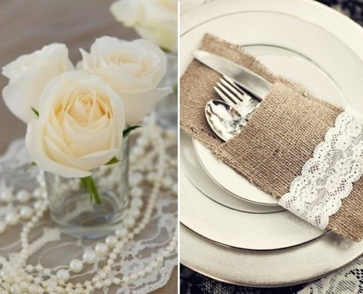 Gorgeous Lace Wedding Ideas