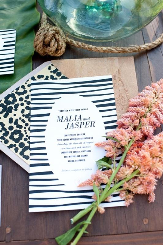 fun safari themed wedding invitations with zebra and leopard prints are fun and bold