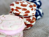 creative patterned cookie sandwiches including a leopard print one is a fun idea for a safari-themed wedding
