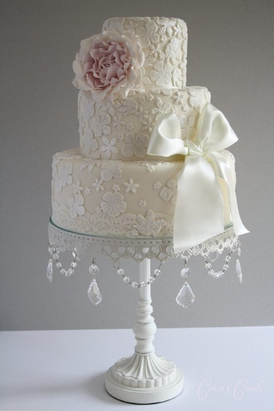 lace design wedding cakes picture of lace wedding cake ideas 16683