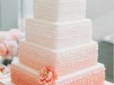 40 Pretty Fabulous Ombre Wedding Cakes