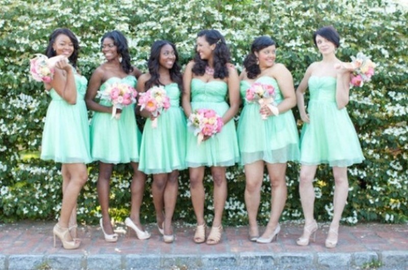 Stylish And Lovely Mint Wedding Ideas