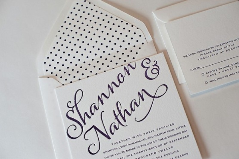 Polka Dots And Spots Wedding Ideas
