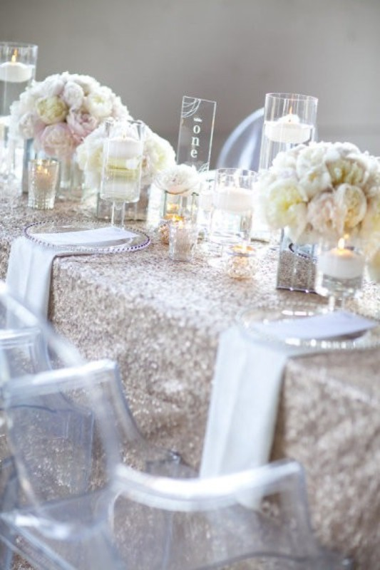 Picture Of Trendy Glittery Wedding Ideas