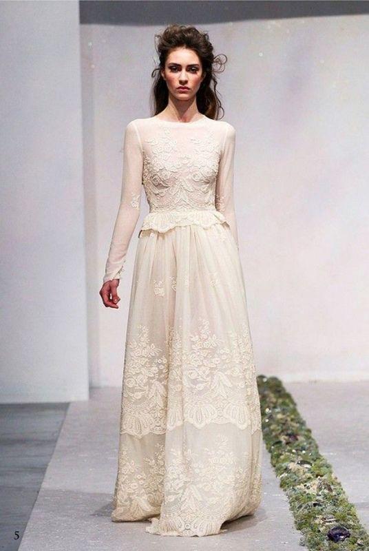 43 Romantic And Exquisite Sleeve Wedding Dresses - Weddingomania