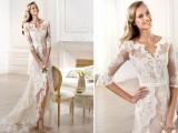 43 Romantic And Exquisite Sleeve Wedding Dresses