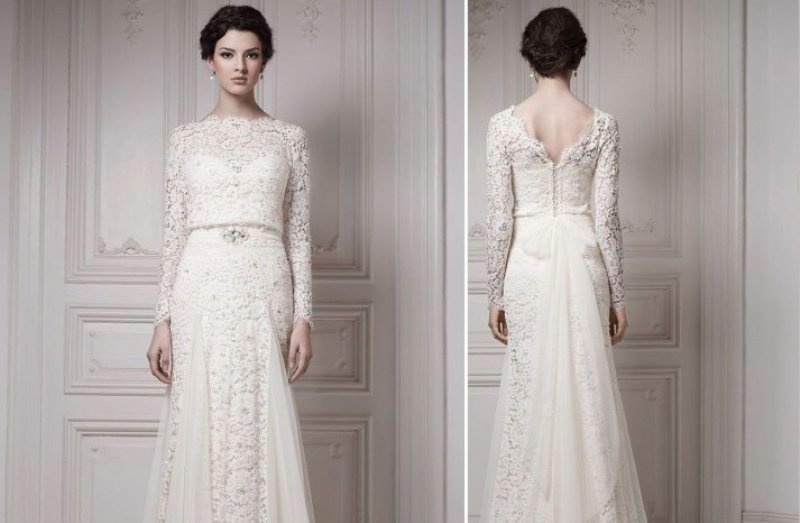 Picture of romantic and exquisite sleeve wedding dresses junglespirit Image collections