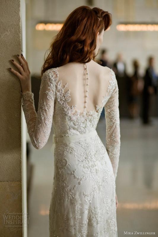 Romantic And Exquisite Sleeve Wedding Dresses