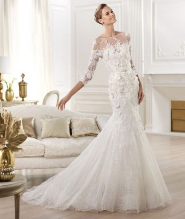 exquisite wedding dress