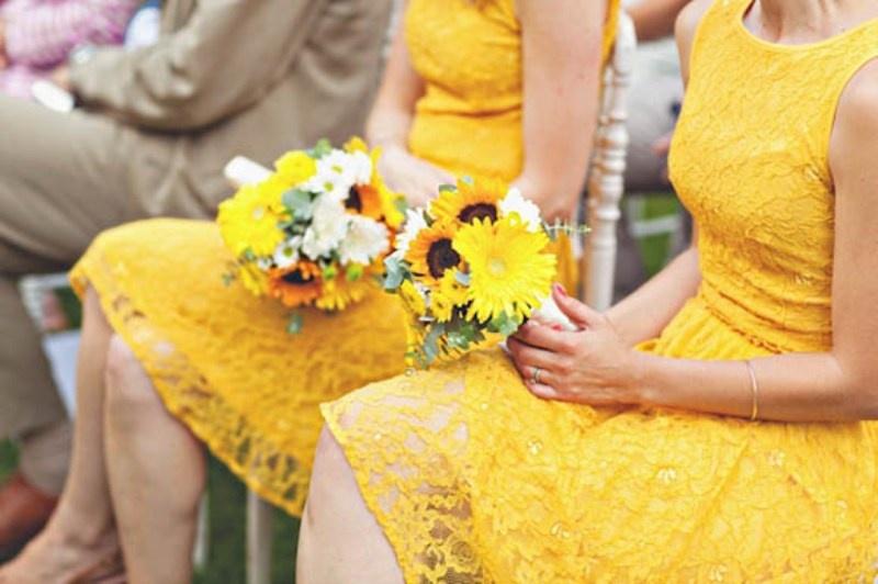 Nice Spring Yellow Wedding Ideas