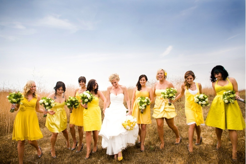 43 Spring Yellow Wedding Ideas | Weddingomania
