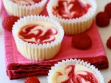 mini swirl raspberry cheesecakes are always a great idea to try