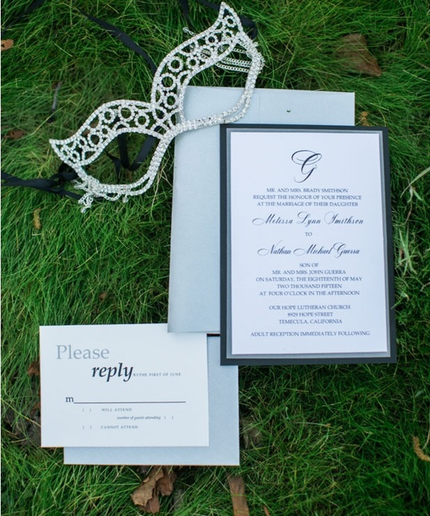 Picture Of shades of grey romantic wedding inspiration  3