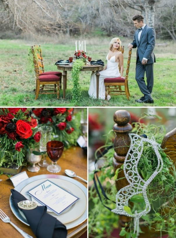 Picture Of shades of grey romantic wedding inspiration  6