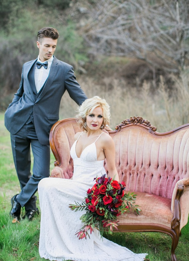 Picture Of shades of grey romantic wedding inspiration  8