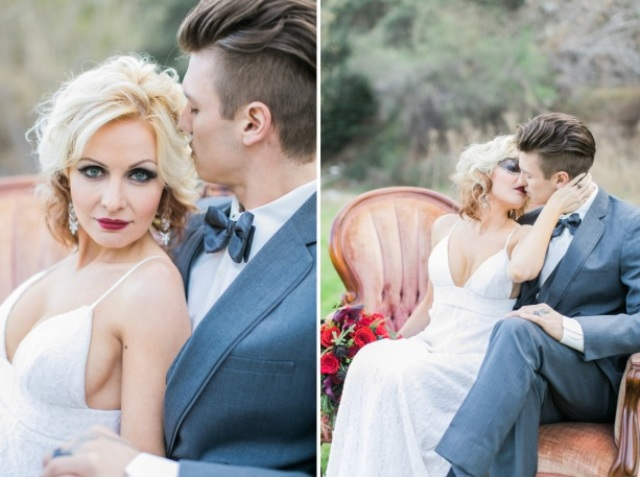 Picture Of shades of grey romantic wedding inspiration  9