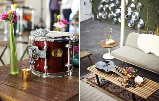 Picture of 60s rock n roll wedding inspiration - Rock n roll dekoration ...