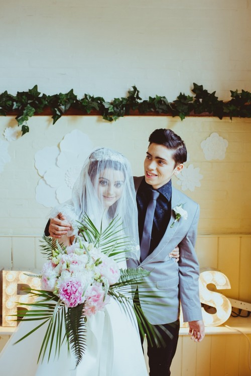 60s Styled Wedding Shoot Inspired By Elvis And Priscilla Presley
