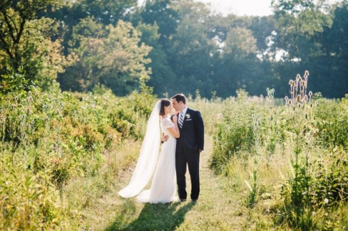 Elegant Rustic And Retro-Inspired Wedding In Illinois
